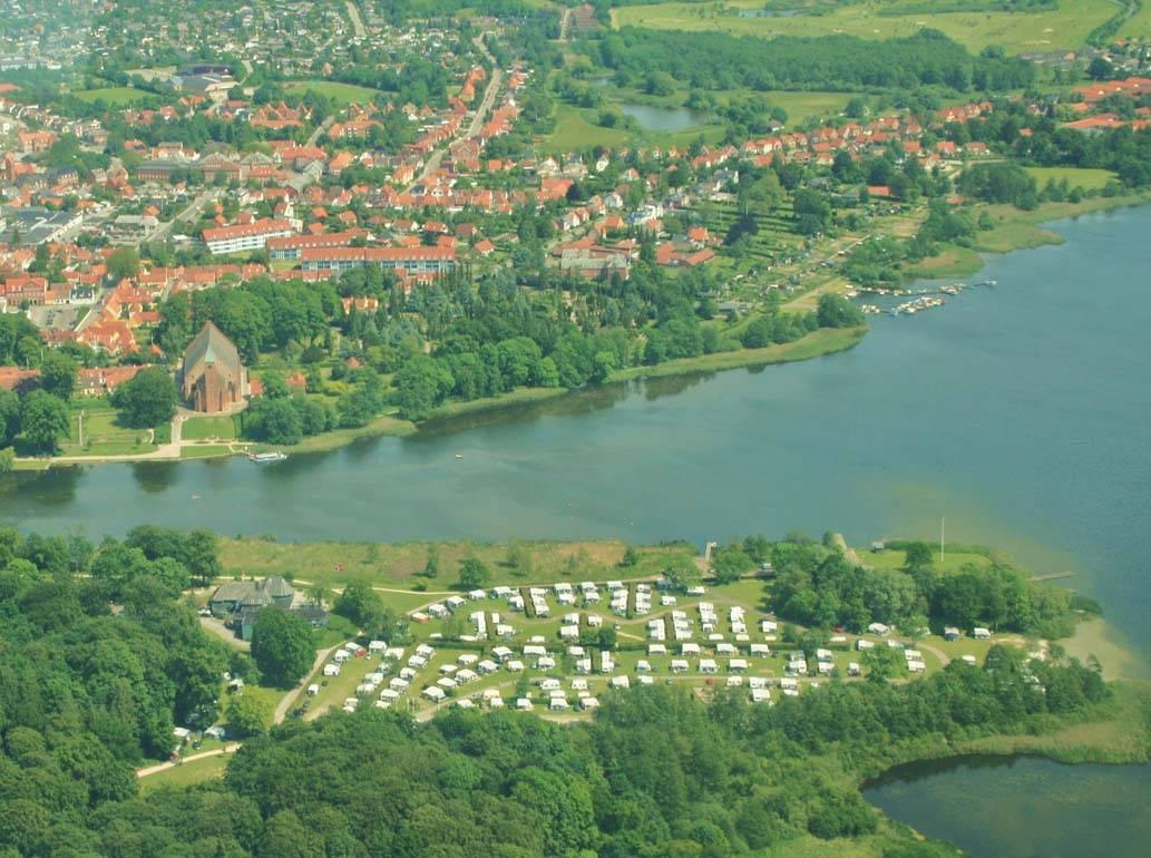 Location: Maribo Sø Camping
