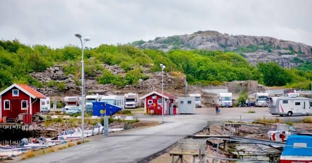 Location: Ställplats Hunnebostrand