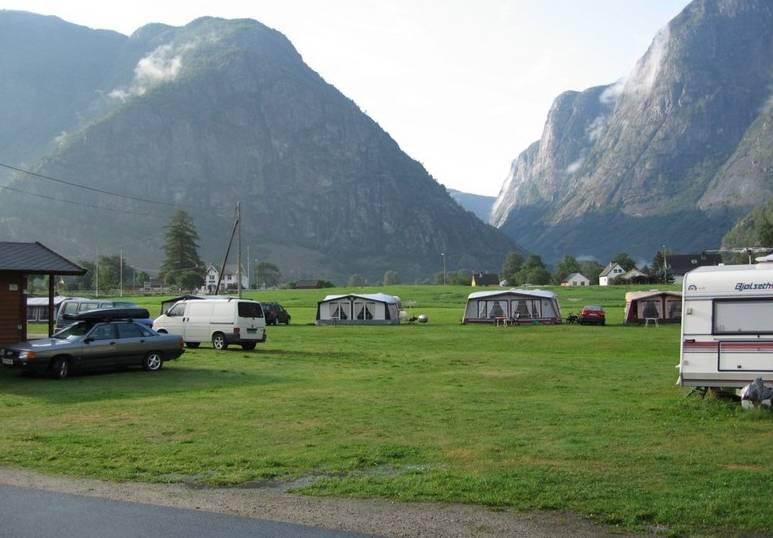 Location: Sæbø Camping