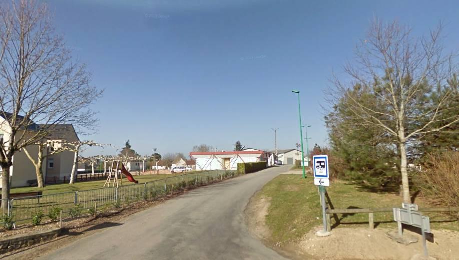 Location: Parking Lanuejouls