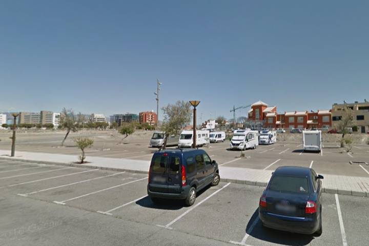 Location: Parking Almeria Municipal Maestro Padilla