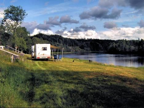 Location: Björkebo Camping