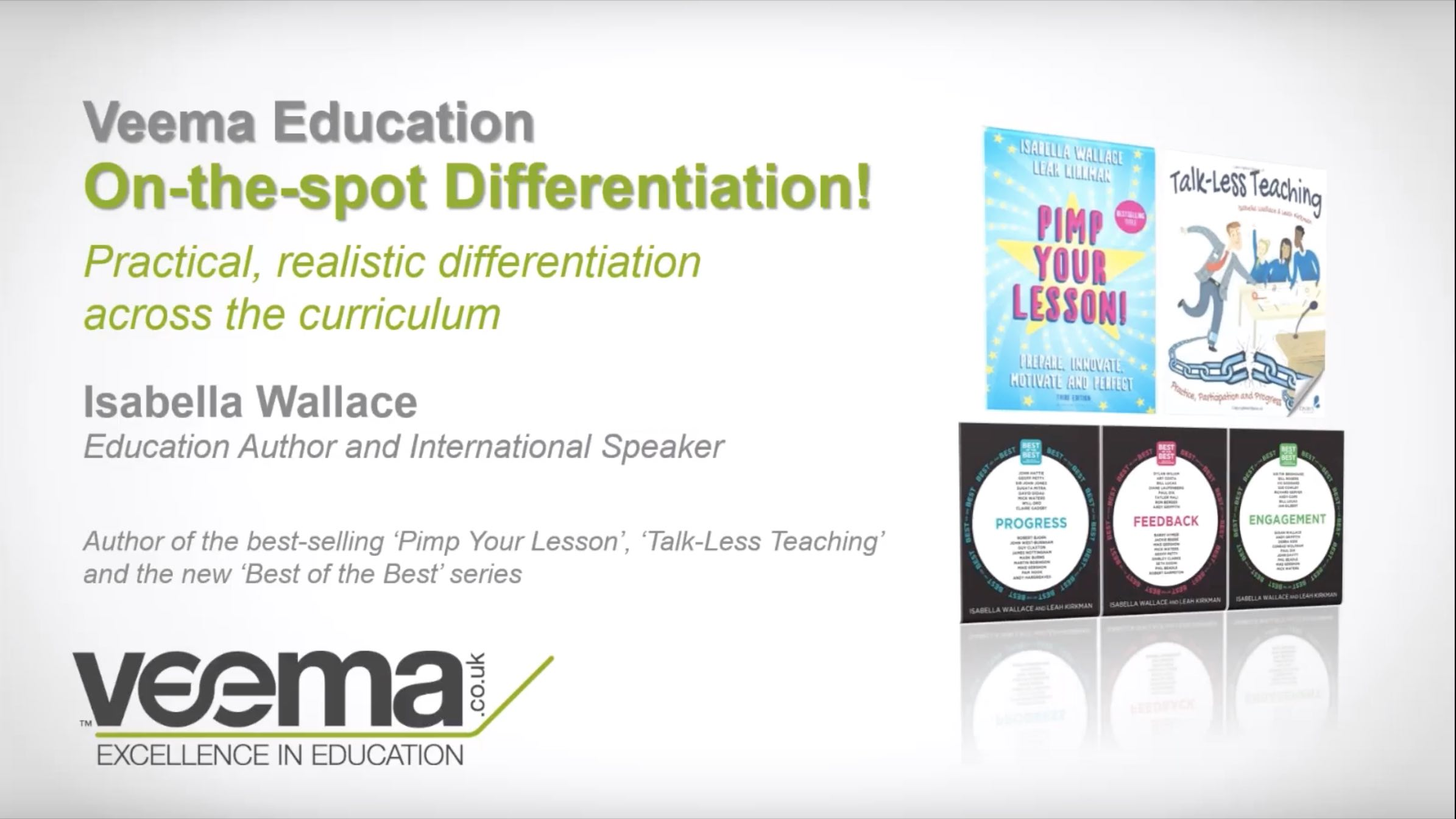 On The Spot Differentiation