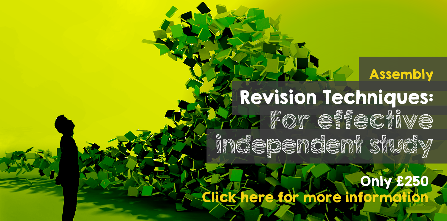 Assembly Revision techniques: for effective independent study. Only £250. Click here for more information.