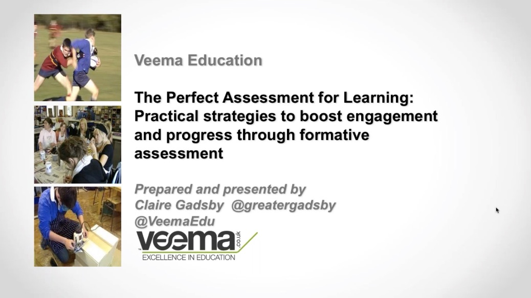The Perfect Assessment for Learning