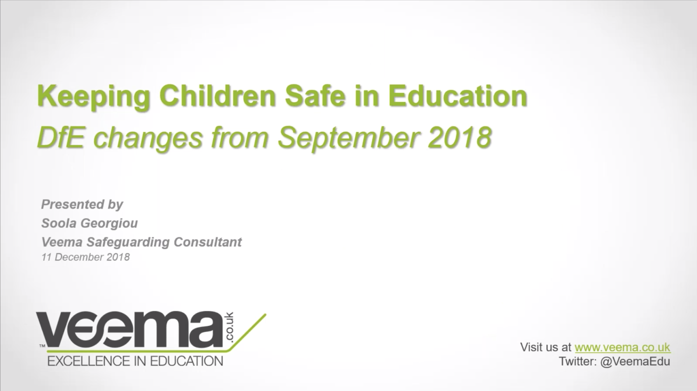 Safeguarding children in education
