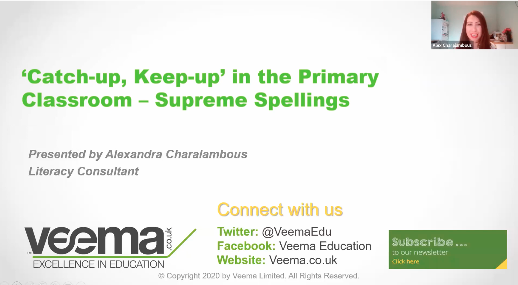 'Catch-up, Keep-up' in the Primary Classroom –Supreme Spellings