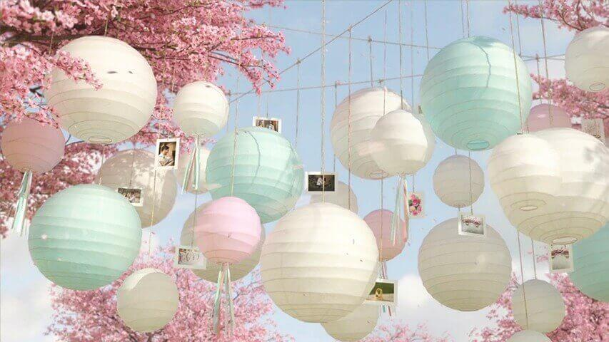 Blossom Lanterns Video Invitation