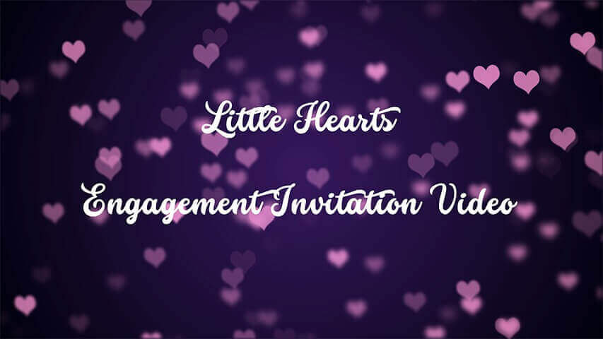 Little Hearts Video Invitation