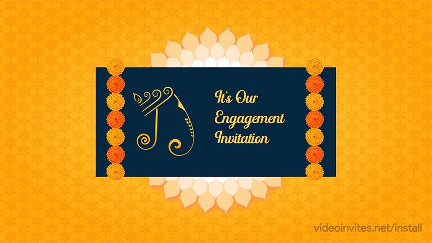 Marigold Video Invitation