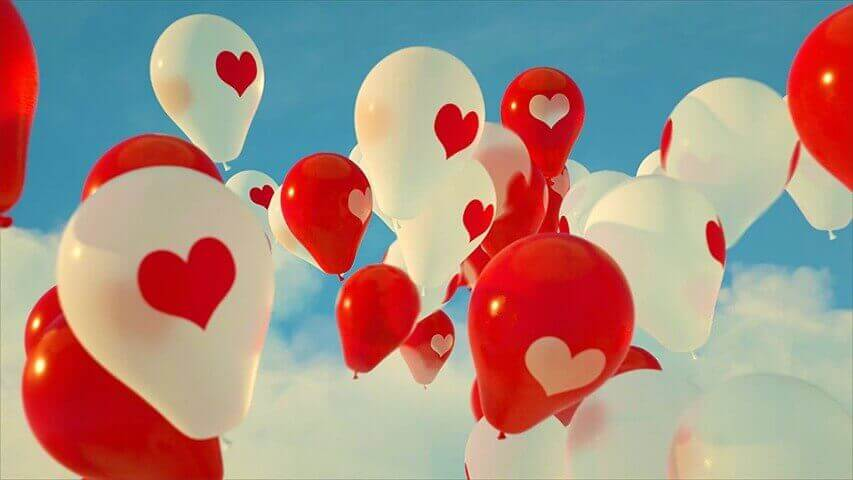Balloons Video Invitation