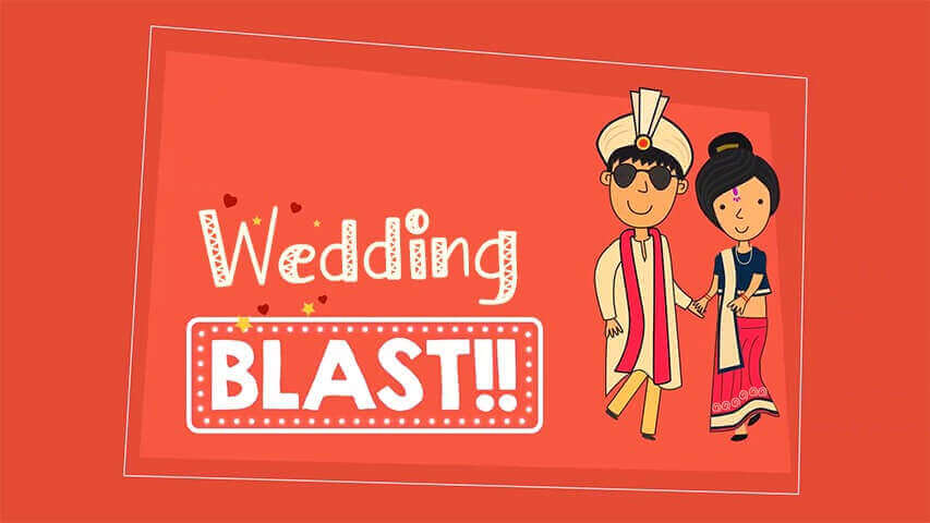 Wedding Blast Video Invitation