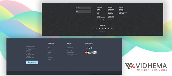 Website Footer Design Best Practices in 2020