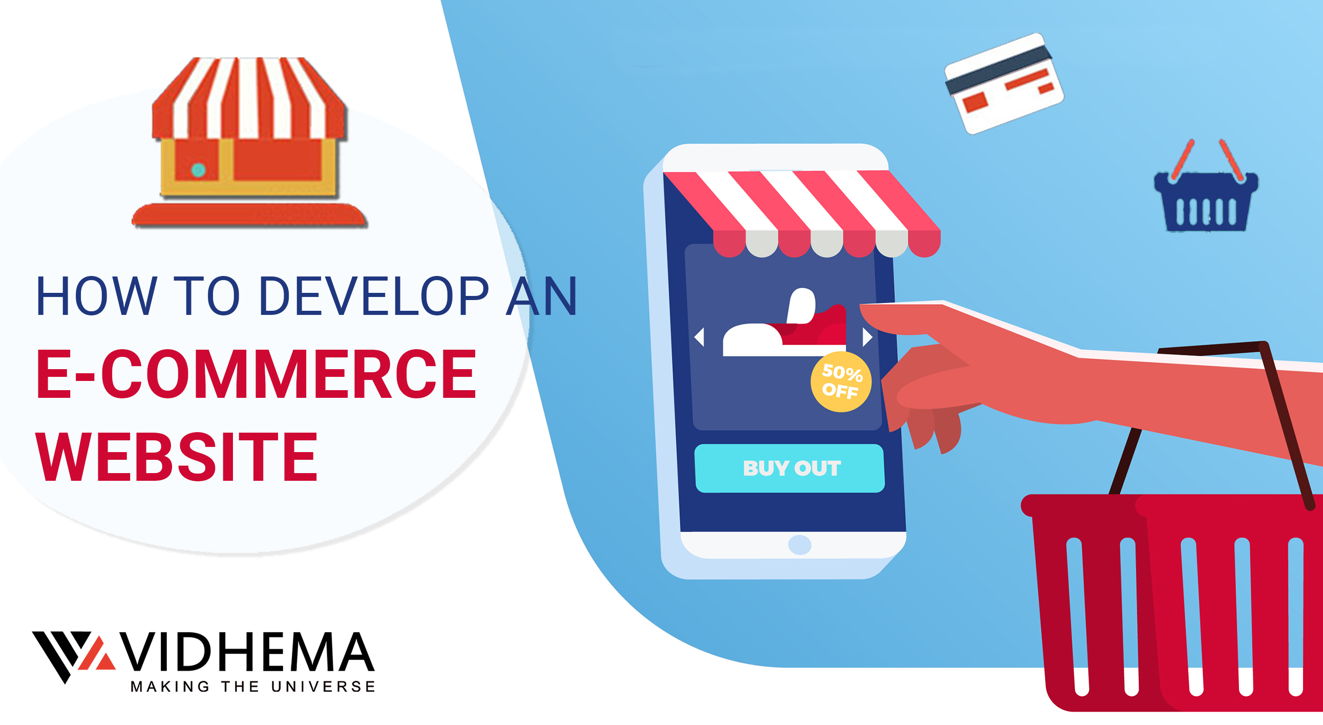 HOW TO DEVELOP AN E-COMMERCE WEBSITE