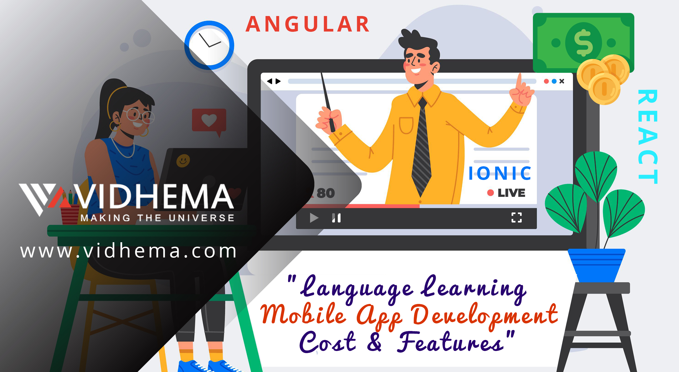 Language Learning Mobile App Development Cost & Features