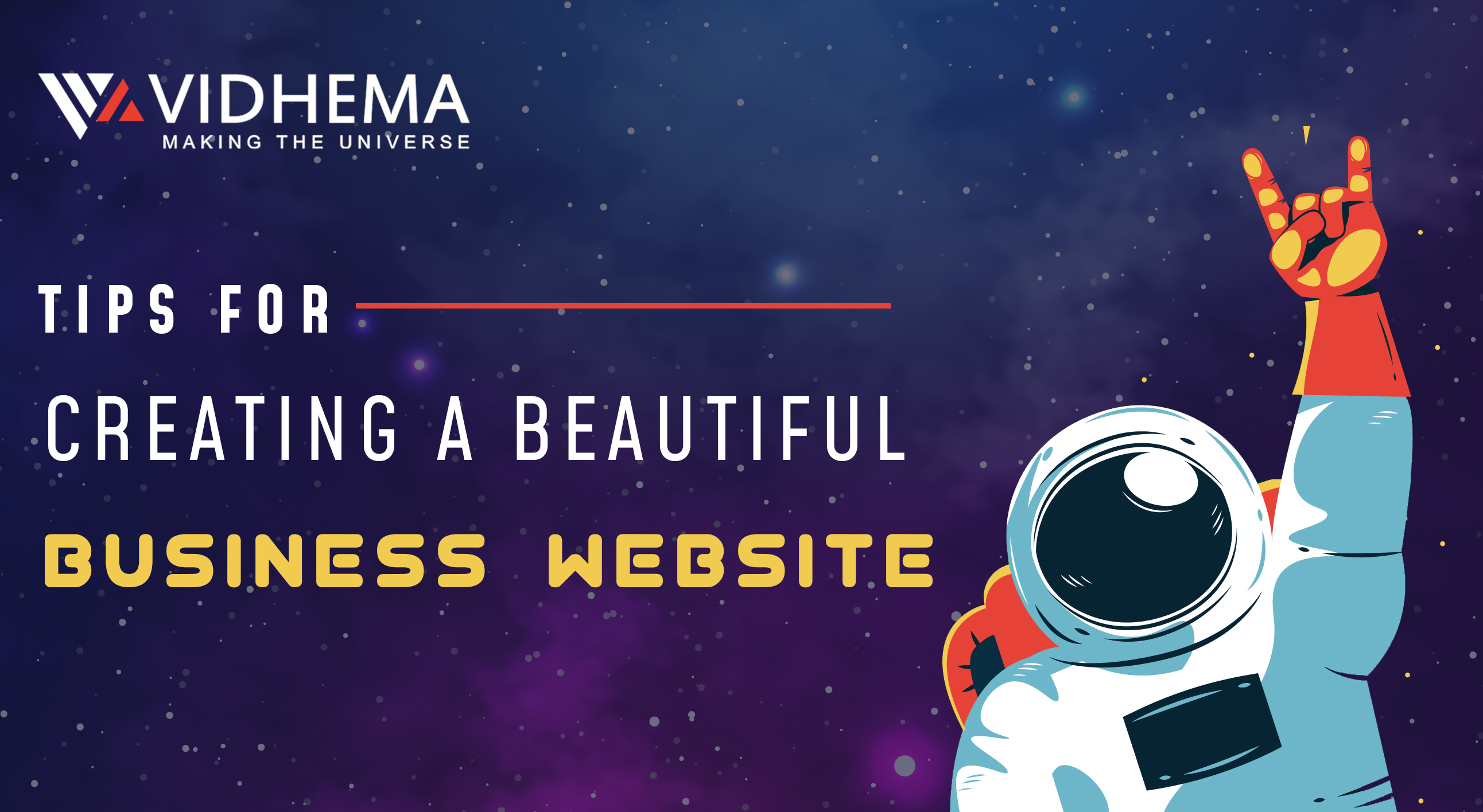 Tips for Creating a Beautiful Business Website