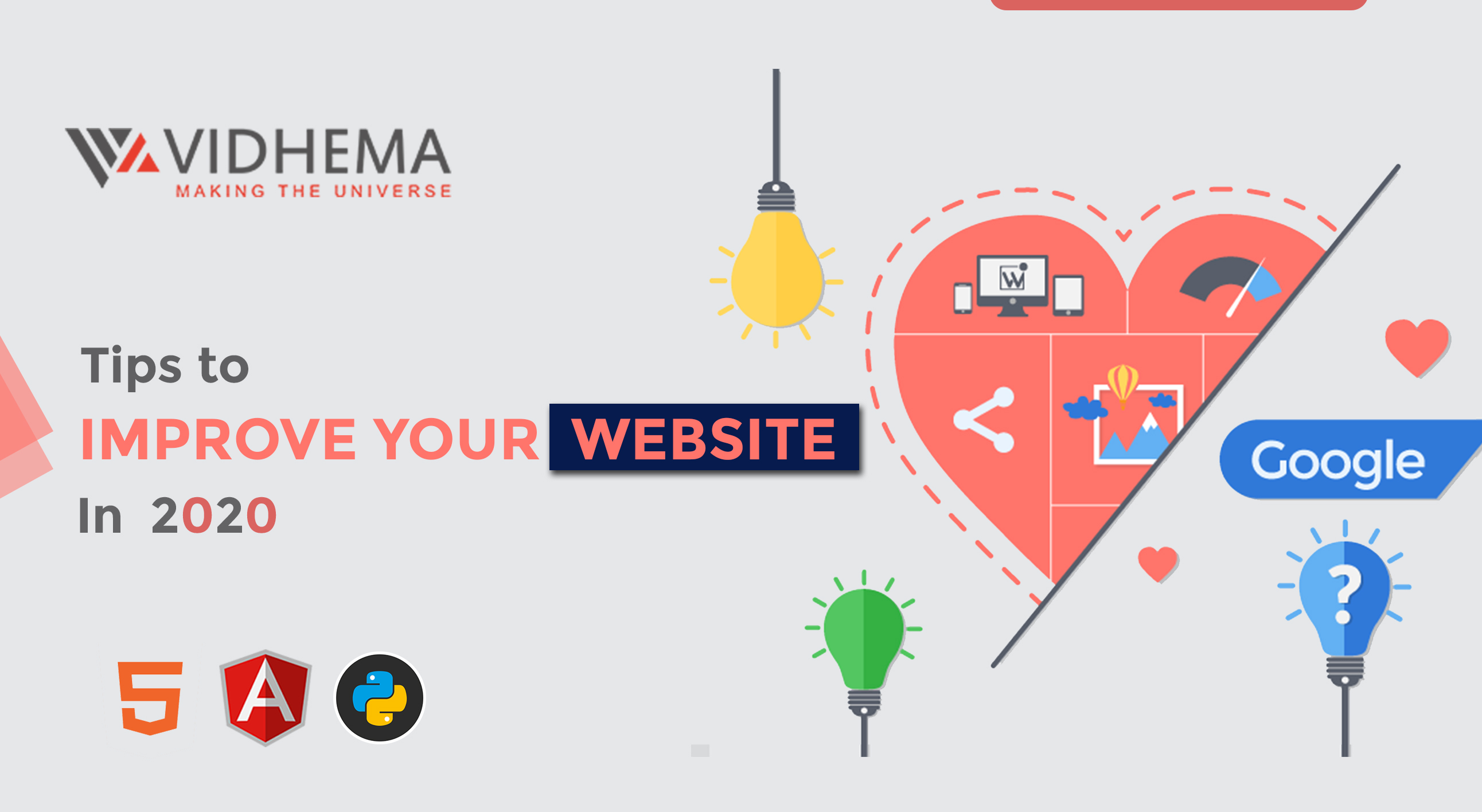 Tips To Improve Your Website In 2020