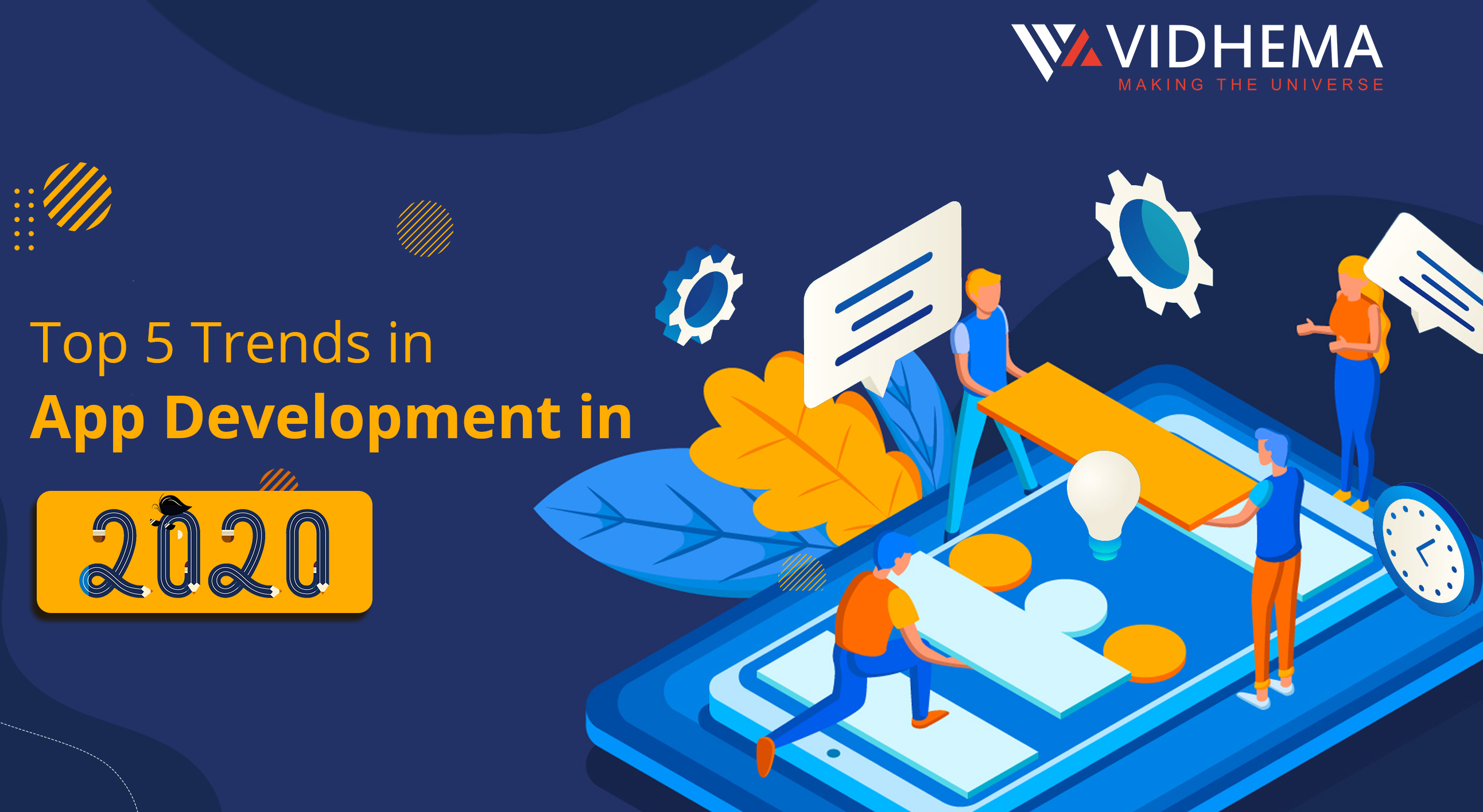 Top 5 Trends In App Development In 2020