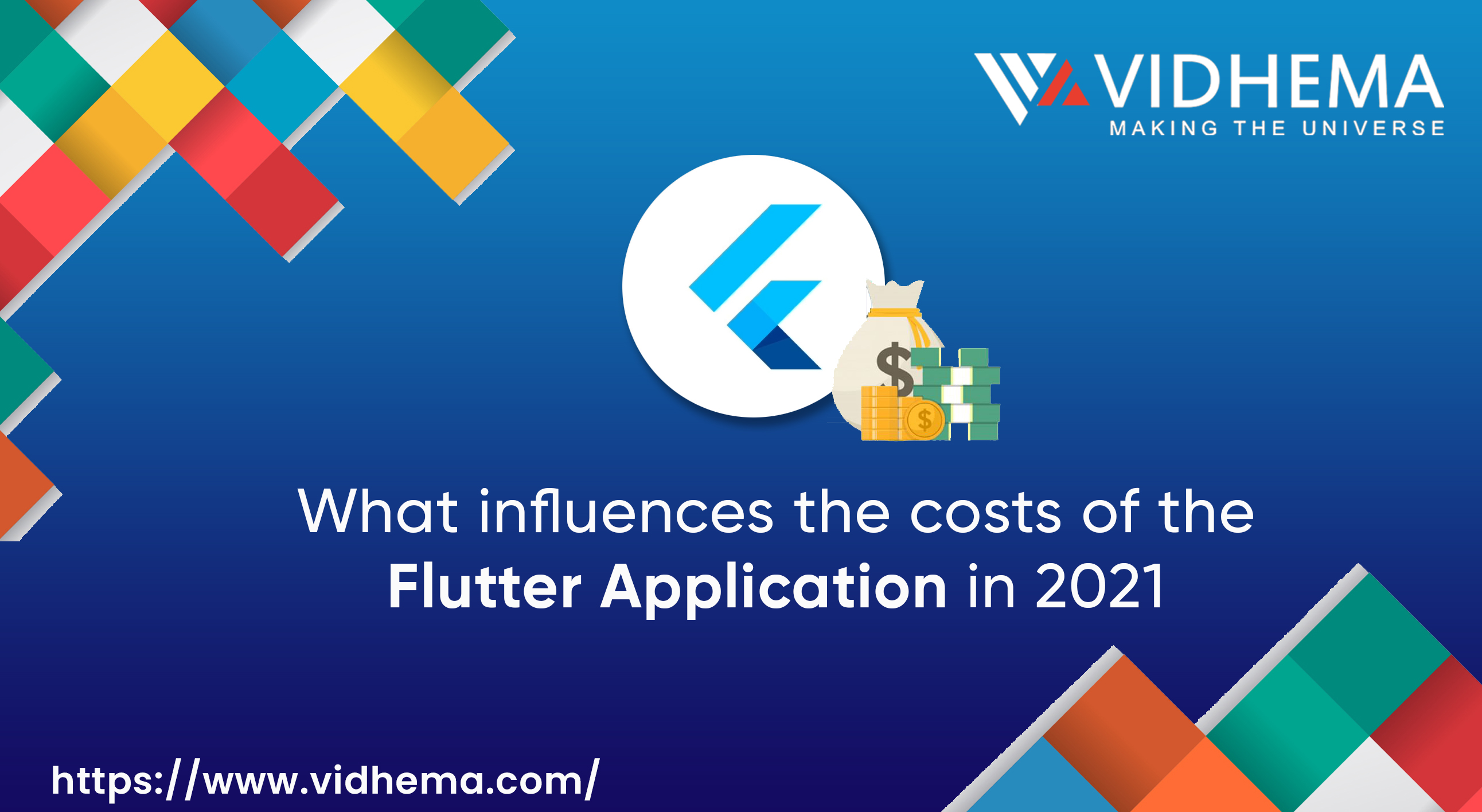What influences the costs of the Flutter Application in 2021?