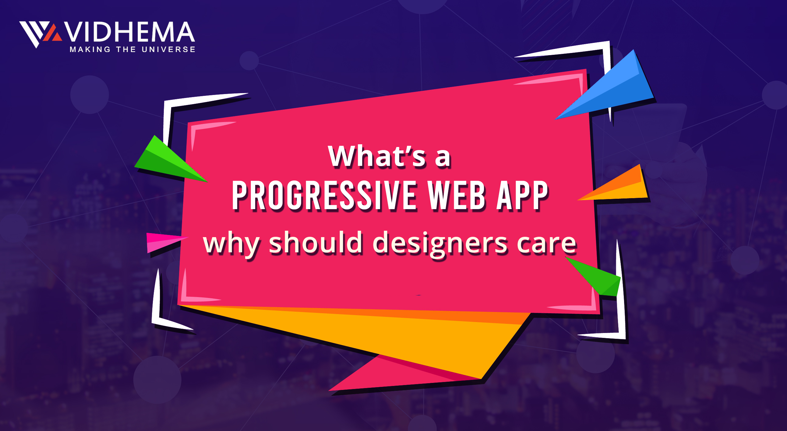 What's a progressive web app, and why should designers care?