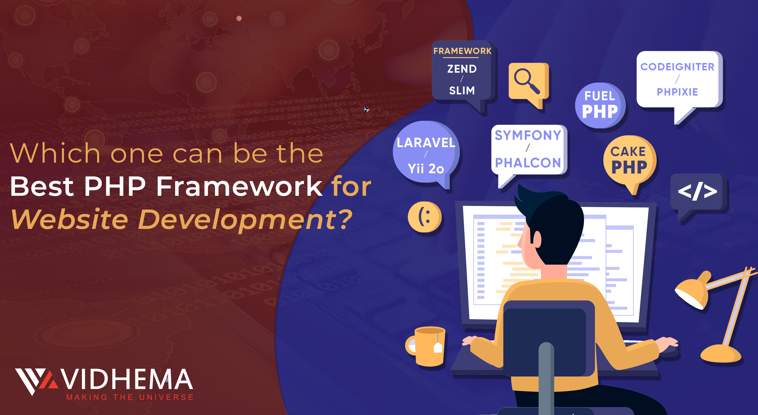 Which one can be the Best PHP Framework for Website Development?