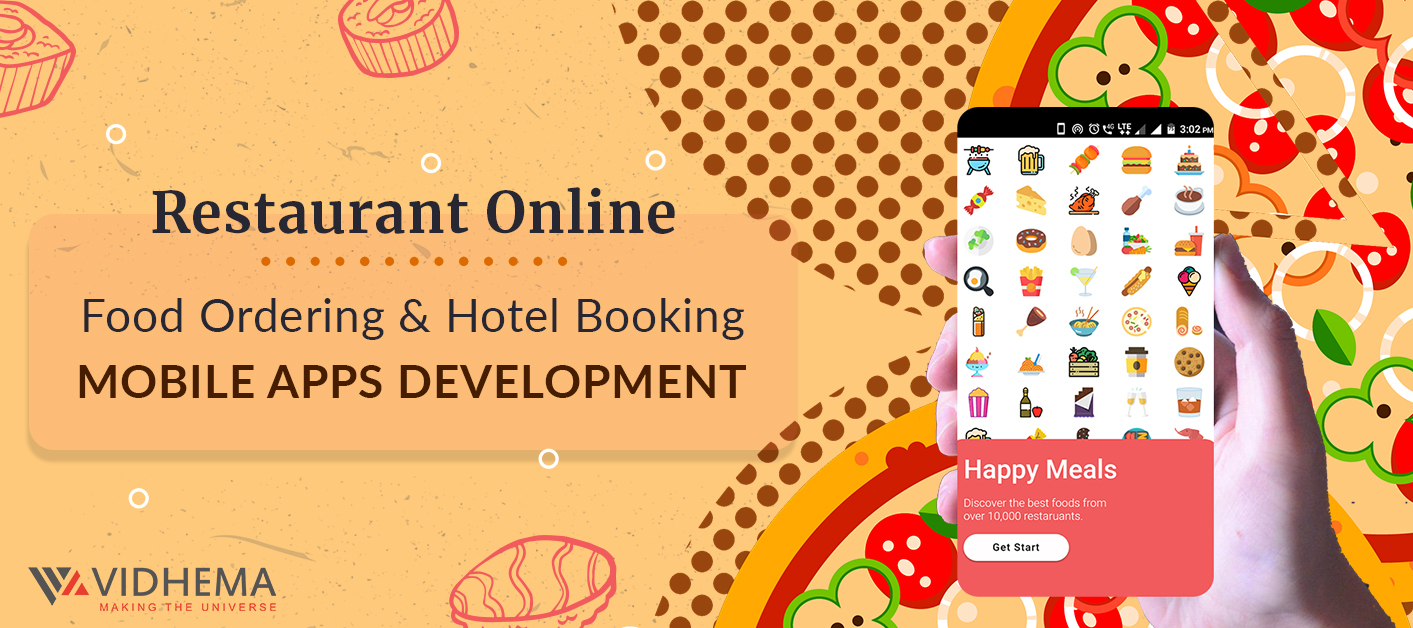 Restaurant Online Food Ordering & Hotel Booking Mobile Apps Development