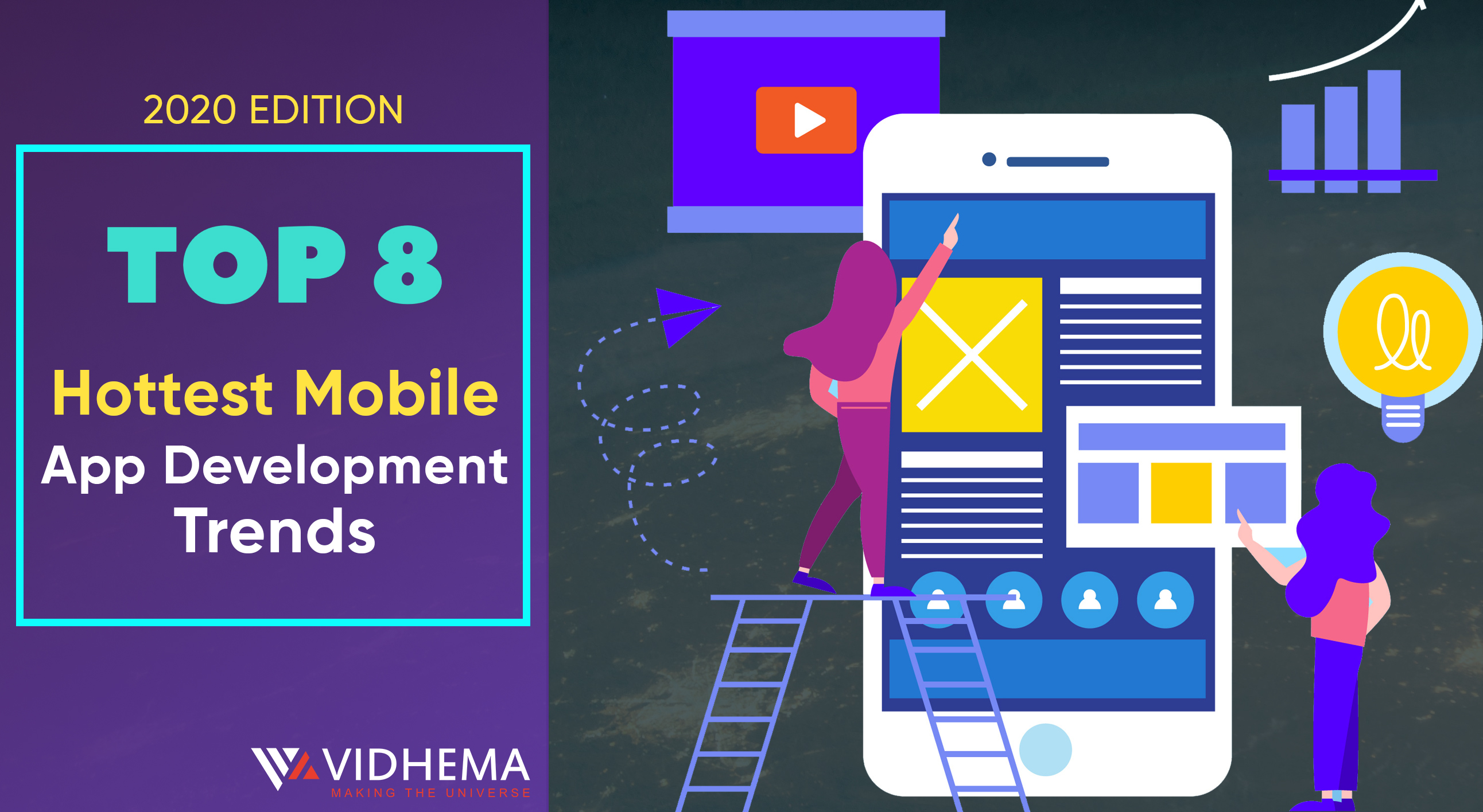 Top 8 Hottest Mobile App Development Trends For 2020