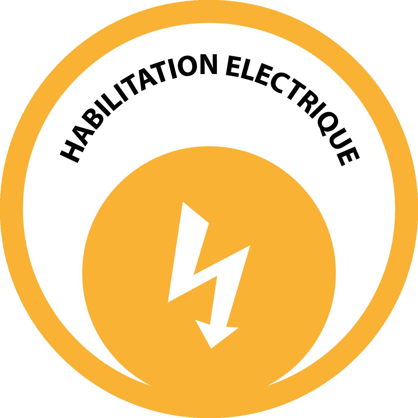 Logo Habilitation Electrique