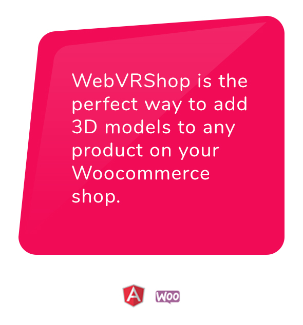 Add 3D models to any Woocommerce shop - Web Virtual Reality 1