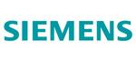 Zobrazení loga Siemens
