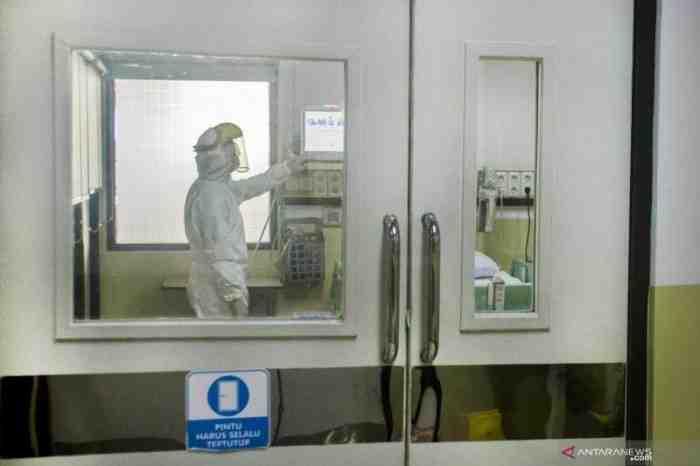 Diduga Terjangkit Virus Corona, Orang ini Dilarikan ke RSHS Bandung