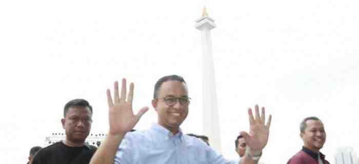 Anies Terancam Dipolisikan dan Diseret ke KPK Akibat Gunduli Monas