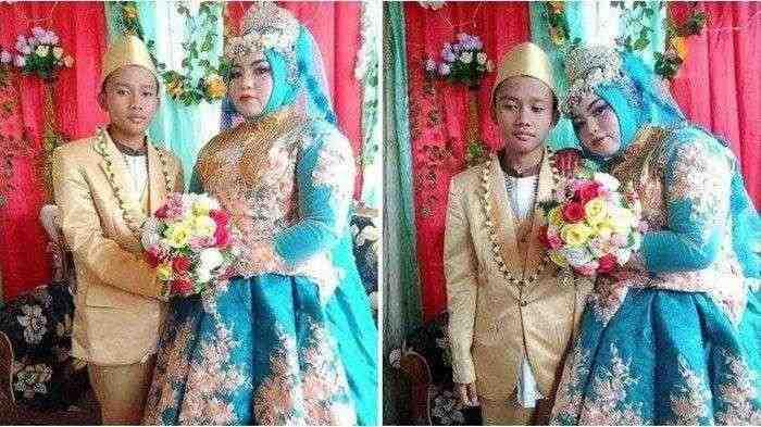 Viral Bocah 14 Tahun di Madura Nikahi Wanita Lebih Tua Darinya