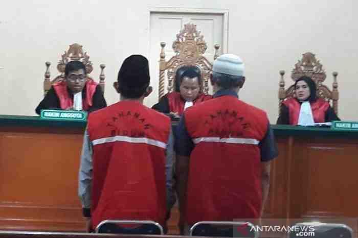 Tak Bayar Iuran BPJS Ketenagakerjaan, 2 Orang di Riau ini Divonis 4 Bulan Penjara