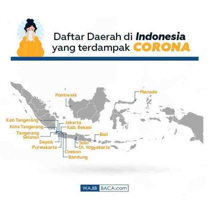 Tak Hanya Solo, ini Daftar Daerah di Indonesia yang Terdampak Corona