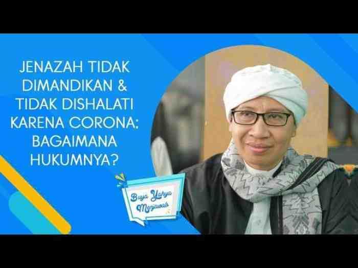 Bagaimana Hukum Islam Terkait Jenazah Korban Corona yang tak Dishalati?