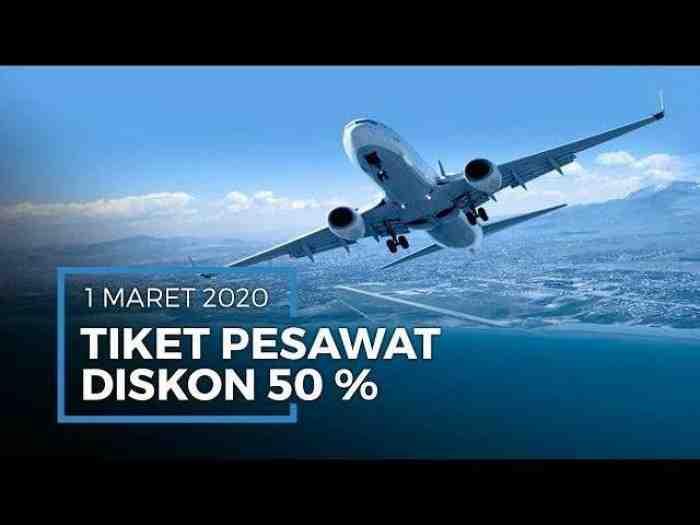 Tiket Pesawat Diskon 50% PP 10 Destinasi, Cek Daftar Wisata yang Wajib Anda Kunjungi