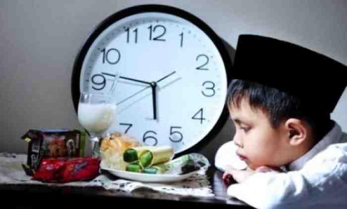 Puasa Ramadhan 41 Hari Lagi, Lakukan 20 Tips ini Agar Si Kecil Mau Puasa