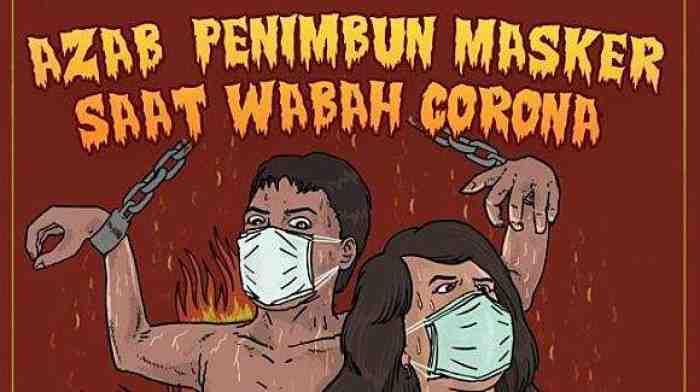 Viral, Kisah Azab Penimbun Sanitizer dan Masker Benar-benar Nyata