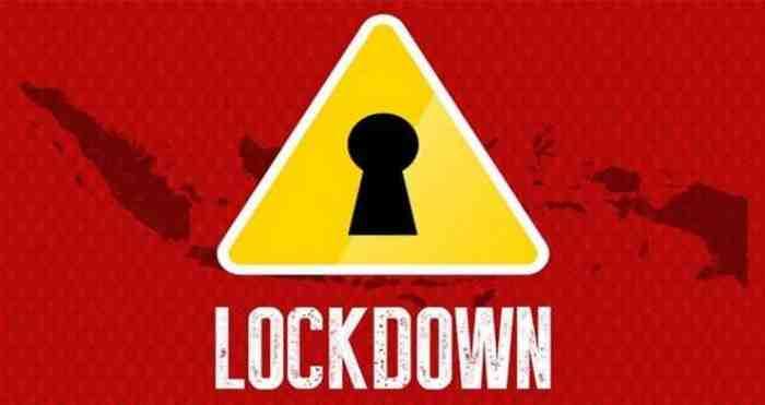 Indonesia Tegaskan Tak Akan Lockdown, Mengaca dari Negara yang Gagal