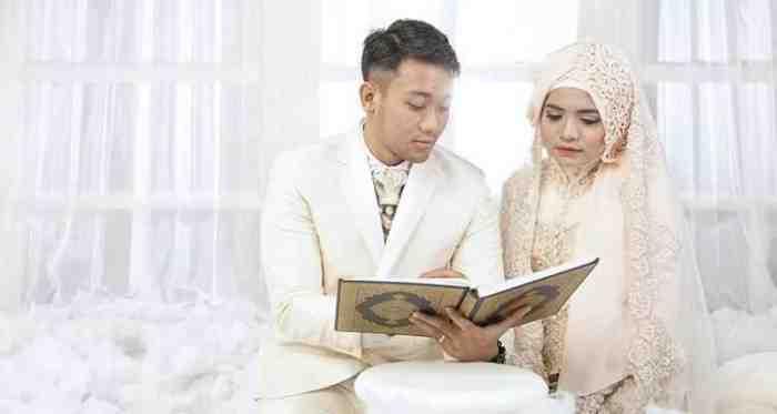 `Jangan menikah di bulan Ramadhan, rumah tanggamu nanti tak bahagia`