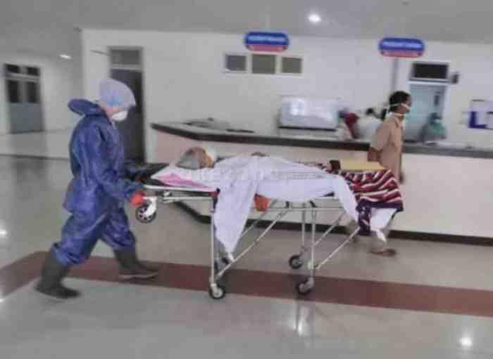 Geger, Ibu-ibu Suspect Corona Kabur dari Rumah Sakit