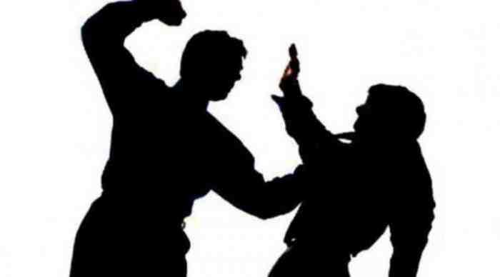 Miris, Kesal Dilarang Nongkrong untuk Cegah Corona, Mahasiswa ini Nekat Pukul Polisi