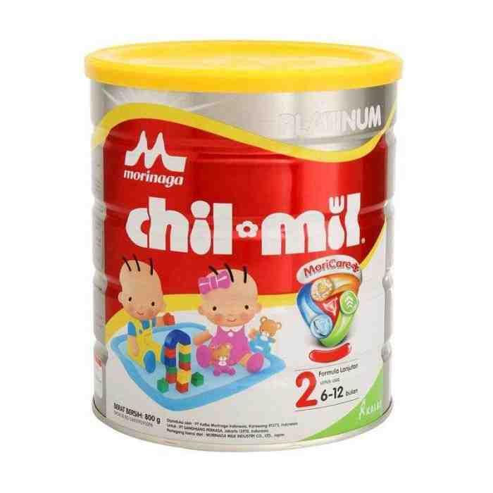10 Merk Susu Penambah Berat Badan Bayi Dibawah 1 Tahun