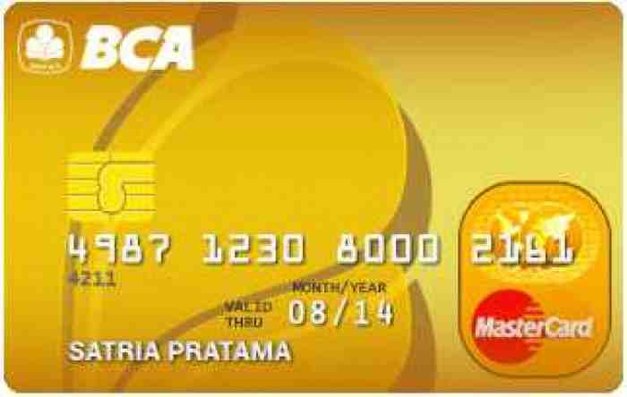 Macam Macam Kartu Kredit BCA yang Bisa Anda Gunakan