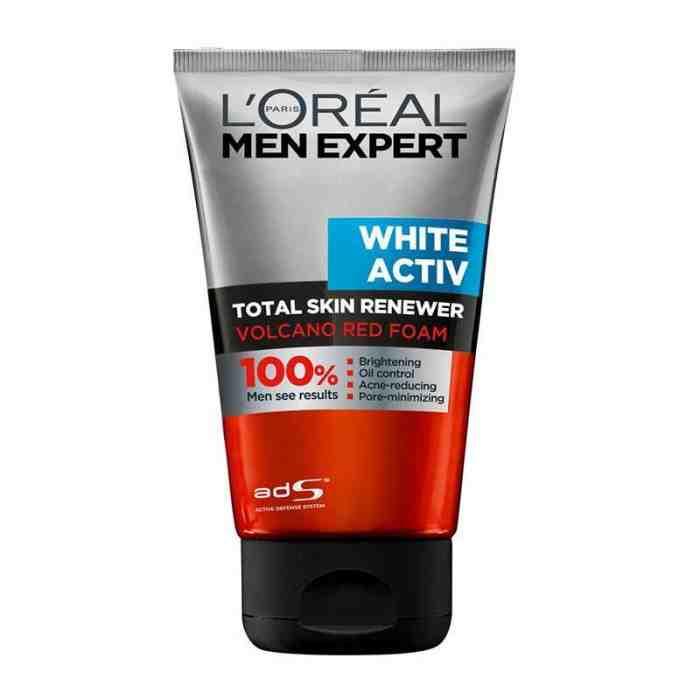 5 Rekomendasi Sabun Muka Untuk Kulit Berminyak Pria