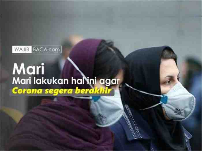 Kapan Virus Corona di Indonesia Akan Berakhir? ini Kata Para Peneliti