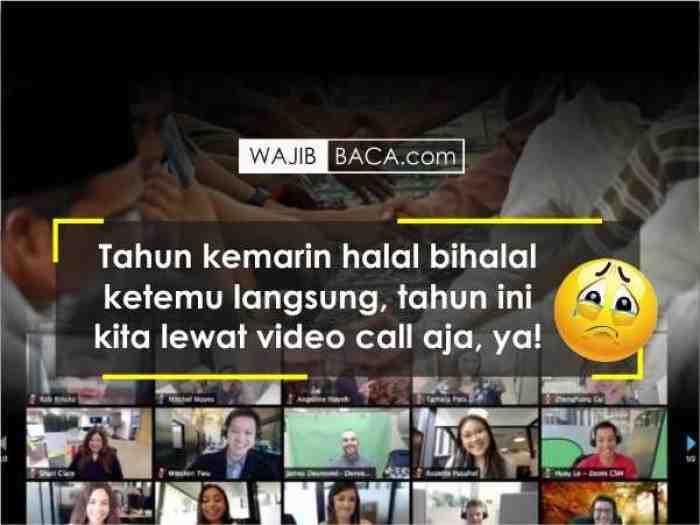 Edaran Menag: Shalat Ied Ditiadakan, Silaturahmi Lebaran Lewat Online