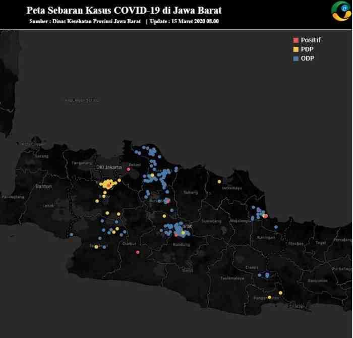 Cek Penyebaran Virus Corona Lewat Situs ini, Simak Detail Lokasi Penyebarannya