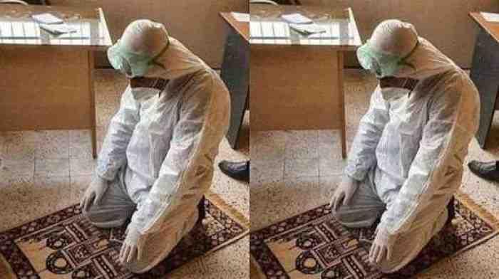 Bagaimana Hukum Islam Jika Tenaga Medis Shalat Pakai APD Tanpa Wudhu?